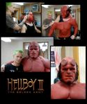 Hellboy 2 make up by Kaduflyer