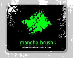 mancha brush by djog