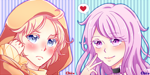 COMMISSION: Rinabell x2 by YumeChii-NI