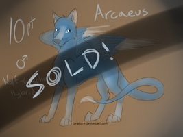 SOLD! - Adopt - Arcaeus by Tarakore