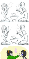 Tea time by irVampire