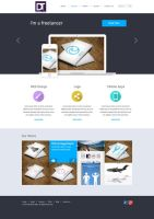 Layout - Portfolio Dominik Tyka by artdigitalazax