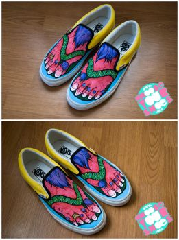 Monster Feet Shoes by mburk