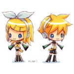 Rin and Len by Mikeinel