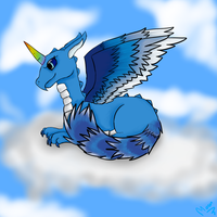 [Skylanders] Dralicorn by Shuu-the-Shoe