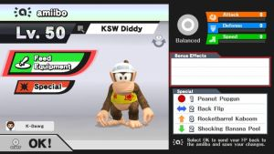 Diddy Kong amiibo by UKD-DAWG