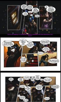 Monster Madness Game Comic Page1 by megabluex