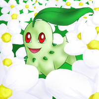 Pokeddexy 10: Chikorita by Ankh-Ascendant