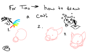 A cat tutorial by Kadinskies