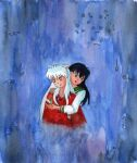 Inuyasha and Kagome + candle by mene