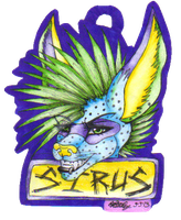 GIFT Sirus Badge by TheHuntingWolf