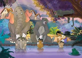 puzzles of the jungle book 5 by disney22