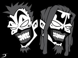 Insane Clown Posse In Yo Face by daldaemar