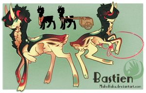 Bastien new ref by MahoHaku