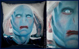 The -you know who- Pillow by Zabyna