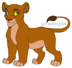 Scar x Sarafina Cub Adopt - OPEN - by Soufroma