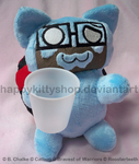 Burnie Catbug Plush by HappyKittyShop
