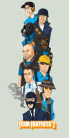 TF2 Group BLU by SuperKusoKao