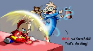 Alvin's a Cheater XD by KicsterAsh