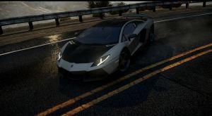 lamborghini aventador NFS the run by DazKrieger