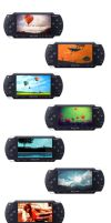 9 PSP Wallpapers by XFak7oR
