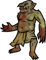 Rock Troll by WhoDrewThis