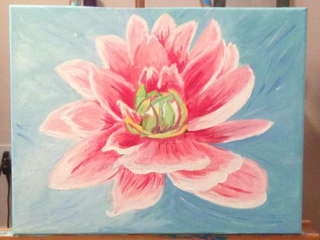 Water Lily by cehavard90