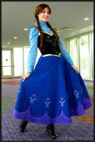 Anna of Arendelle by WickedLover010