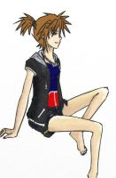 Female Sora, KH2 Palette by UrameshiRain