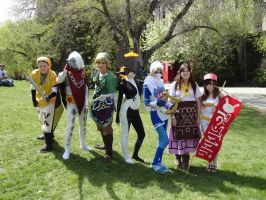 The Legend of Zelda Characters at Otafest 2012 by I-am-perry
