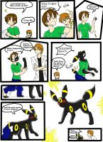 Umbreon Transformation Digital by RaiinbowRaven