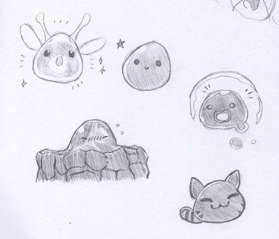 Slime Rancher Pencil by Razonadux