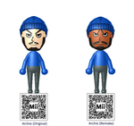 Team Aqua Leader Archie Mii's by Pfaccioxx