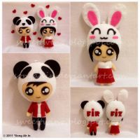 Mr Panda n Ms Rabbit... by SongAhIn