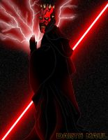 Darth Maul by SumtimesIplaytheFool