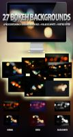 27 Bokeh Backgrounds Set by ibRC