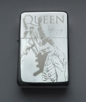 QUEEN - engraved lighter by Piciuu