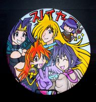 Slayers Collector's Plate by akane-no-Hime