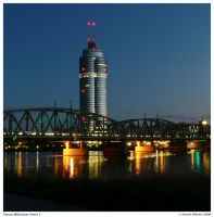 Vienna Millenium Tower 1 by danielnikolic