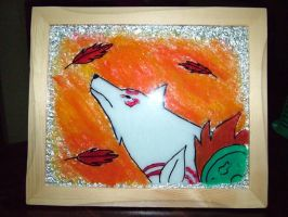 Okami Stained Glass by shagne