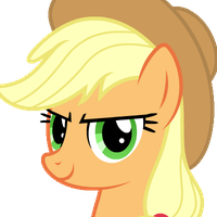 Rocking Applejack (GIF) by HankOfficer