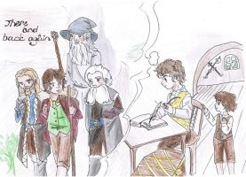 Bilbo's memories by Rina-from-Shire