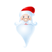 santa icon free psd and png by nelutuinfo