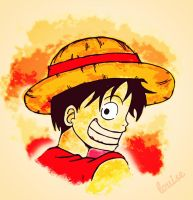 Luffy~ by 27louise