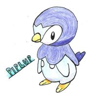 Piplup by Catgirl1428