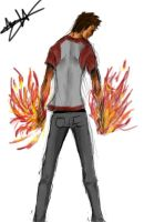 Fire Dude by Hysterio0