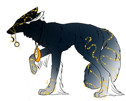 Earth Hound Adoptable- But.. by JayWolf42