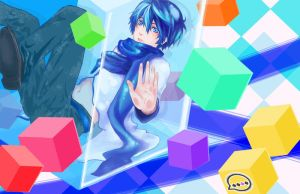 Kaito in a box by yueta