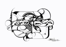 SANZ ONE Reflection A3 by SANS-01-2-MHC-BS