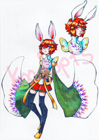 [CLOSED] Chinese Bunny Adopt - Paypal Only by koodopts